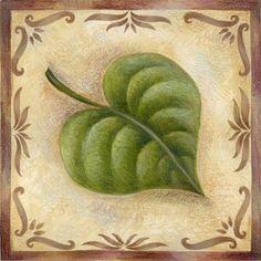 Square leaf