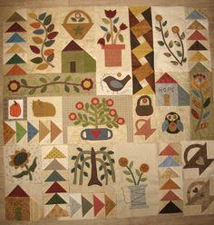 Life of plenty, pattern by Jennifer Gaston, by Carrément crazy