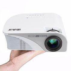 iRULU Video Projectors HD Home Theater Projector iRULU 60 LED HD 1080P USB HDMI