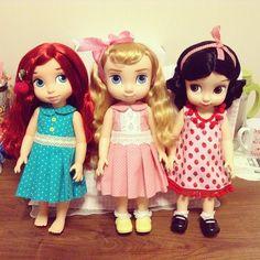 some cute Disney animator dolls