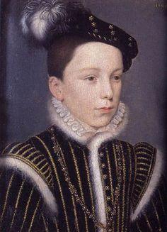 HENRI DE VALOIS (°1551) - son of Henri II and Catherine de Medici. / by CLOUET
