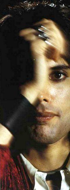 Freddie Mercury of Queen.