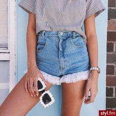 Spodenki Spodnie Moda