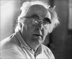 """Charles Olson, another huge influence upon my writing early on. The great white whale of American poetry--only Gertrude Stein is bigger and bears greater investigation. """"I set out now/ on a box upon the sea. William Carlos Williams, American Poetry, White Whale, The Great White, Great Books, Authors, Bears, People, Corner"""