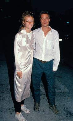 She used to date Brad Pitt back in the day. - Gwyneth Paltrow's Celebrity BFFs - Photos