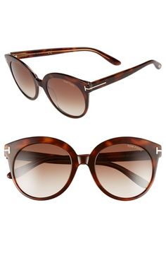 Tom Ford  Monica  54mm Retro Sunglasses Óculos De Sol Tom Ford, Óculos De 422cfc8416