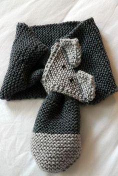 tuto echarpe renard Plus Arm Knitting, Knitting For Kids, Tricot Baby, Crochet Patterns, Knitting Patterns, Baby Sweaters, Diy Crochet, Crochet Ideas, Crochet Projects