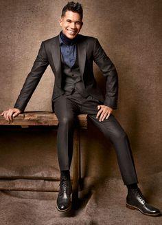 Great Zegna suit.