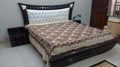 M/S Naza Furniture Traders - offering Bedroom Wooden Bed, Size/Dimension: Feet at Rs in Jhansi, Uttar Pradesh. Bed Headboard Design, Bedroom Bed Design, Bedroom Furniture Design, Home Room Design, Headboards For Beds, Bed Furniture, Bed Back Design, Wood Bed Design, Sofa Design
