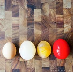 Get busy with a variety of eggs-periments.