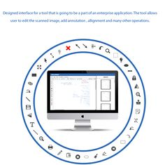 Scanned Image Editor UI on Behance