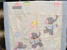 Vintage Child's Blanket / Sweet Child's Coverlet  / by vintagemb60, $65.00