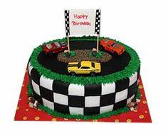 Hot Wheels cake - for Mari's BFF jack