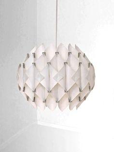 Acrylic Ceiling Lamp | Lars Schiøler for Høyrup | 1960s