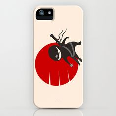 LITTLE NINJA STAR iPhone Case by AnishaCreations - $35.00
