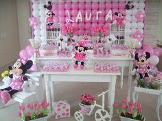 Minnie rosa estilo provençal