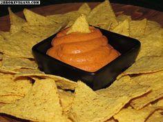Vegan Sharp Cheddar Cheese Dip - 2 Βroke Vegans: http://2brokevegans.com/vegan-sharp-cheddar-cheese-dip/