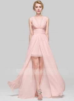 A-Line Princess Scoop Neck Floor-Length Ruffle Lace Beading Zipper Up  Covered Button Regular Straps Sleeveless No Other Colors Spring Summer Fall  General ... b1ed75d0990