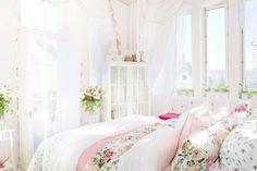 decoração provençal e shabby chic quarto (4)