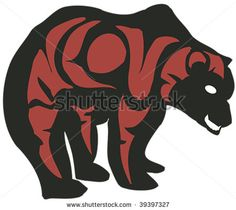 Image detail for -... In Northwest Coast Native Style. Stock Vector 39397327 : Shutterstock
