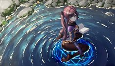Anime Witch, Anime Demon, Manga Anime, Wallpaper Online, Wallpaper Desktop, Fantasy Character Design, Character Art, Character Wallpaper, Soul Art