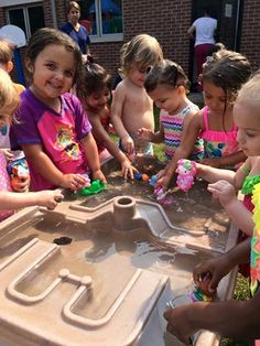 Summer Fun at Paradigm Child Care & Enrichment center! Don't worry, we don't forget the sunscreen!