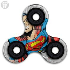 BROOKE LEWIS Fidget Spinner Superman Clark Kent Hand Spinner Toy Premium Hand Toy For Kids Adults Perfect For Giving Up Smoking Killing Time ADD ADHD - Fidget spinner (*Amazon Partner-Link)