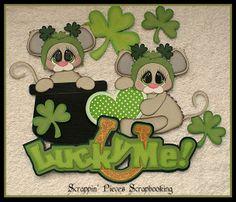 Lucky Me ~DT Debbie  Scrappin' Pieces Scrapbooking