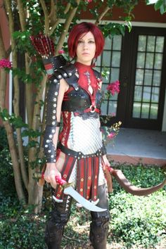 Cosplay :Leliana from Dragon Age: Origins.