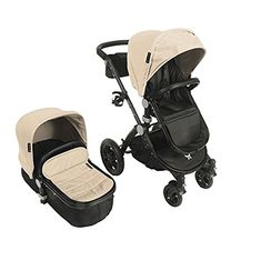 Babyroues Letour Avant Luxe Stroller with Bassinet Silver Frame, Pink Leatherette Bassinet Cover, Go To Walmart, Seat Storage, Baby Safe, Baby Play, Bag Organization, Baby Car Seats, Baby Strollers, Two By Two