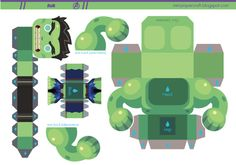 Hello les kidz ! Nous poursuivons avec les papertoys de super-héros, Avengers 2012 oblige… En ce lundi matin, c'est donc Hulk qui est à l'honneur… et il a les dents !!! On doit cette (mini) création à l'artiste Gus Santome,…