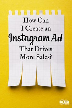A Facebook ad, when done right, can be extremely profitable and the same goes for an Instagram ad! Here's how to drive more sales from your ads...