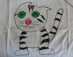 Creatività: la maglietta fai da te on http://psicomamme.it