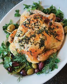 Alsatian Roast Chick
