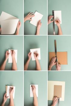 Make a handmade book from a sketchpad - The House That Lars Built