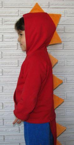 diy dinosaur costume hoodie - Google Search