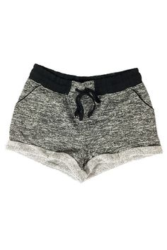 Super comfortable jogger shorts with functional pockets, stretchy waistband, and drawstring. Available in 3 colors.