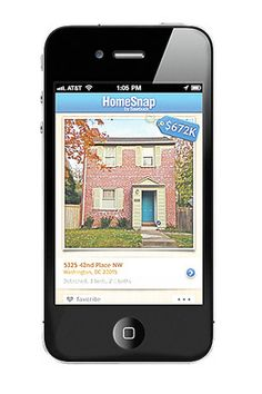 Real-Estate App - just take a photo of a home in your neighborhood...it'll pop out info...square footage, price, etc...