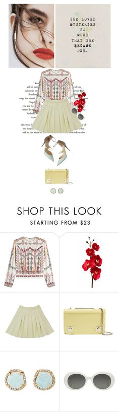 """""""Monday"""" by abella07 ❤ liked on Polyvore featuring Lily Jean, Etro, Carven, Louise et Cie and Yves Saint Laurent"""