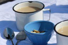 Chai Yerba Maté Latte with Manuka Honey {gf} — birch & wild