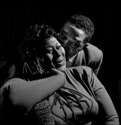 Ella Fitzgerald, Duke Ellington By Herman Leonard