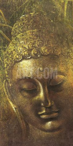 Buddha in Green ll Art Print by Wei Ying-wu at Art.com