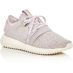 Adidas Women's Tubular Viral Knit Lace Up Sneakers (140 AUD) ❤ liked on Polyvore featuring shoes, sneakers, lacing sneakers, laced up shoes, lace up sneakers, adidas trainers and laced shoes