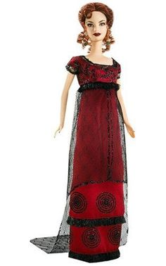 The Titanic movie's Rose DeWitt Bukater was reproduced in Barbie doll form by Mattel in 2007 for the 10th Anniversary of the Titanic movie. Isn't she lovely?