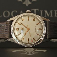 """1960's MARVIN [Swiss] """"Hermetic"""" Vintage Gents Classy Dress Watch 17j Cal. 560 - WE SPECIALISE IN VINTAGE WATCHES - MORE IN OUR STORE!"""