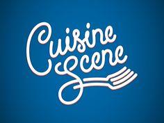 Cuisine Scene | Fonts Inspirations | The Design Inspiration