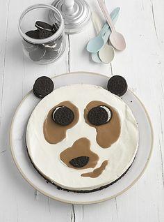 Philadelphia Torte OREO-Pandabär (Rezept mit Bild) | Chefkoch.de Philadelphia Creme, Philadelphia Torte, Edible Food, How To Eat Better, Oreos, Food Art, Kids Meals, Tiramisu