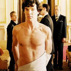 Shirtless Sherlock