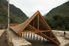 olivier ottevaere & john lin - the pinch [phase 1], shuanghe village, yunnan province, china