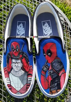 Definitely a custom painted shoe with attitude! Vans Converse or Toms 00246fd09